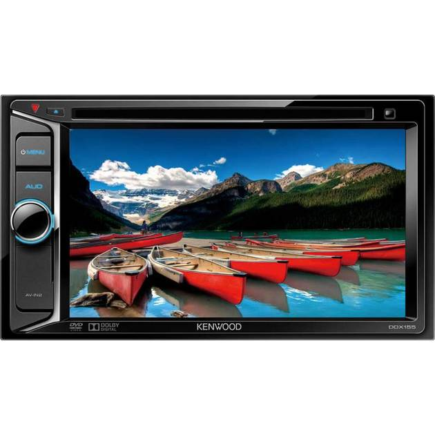 Автомагнитола CD DVD Kenwood DDX-155 2DIN 4x40Вт