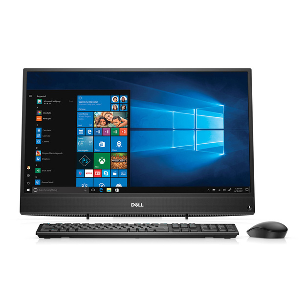 Моноблок Dell Inspiron 3477 23.8 Full HD i5 7200U (2.7)/8Gb/1Tb 5.4k/MX110 2Gb/Windows 10 Home/GbitEth/WiFi/BT/65W/клавиатура/мышь/черный 1920x1080
