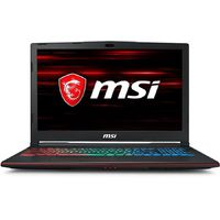 Ноутбук MSI GP63 8RE(Leopard)-468RU Core i7 8750H/16Gb/1Tb/SSD128Gb/nVidia GeForce GTX 1060 6Gb/15.6