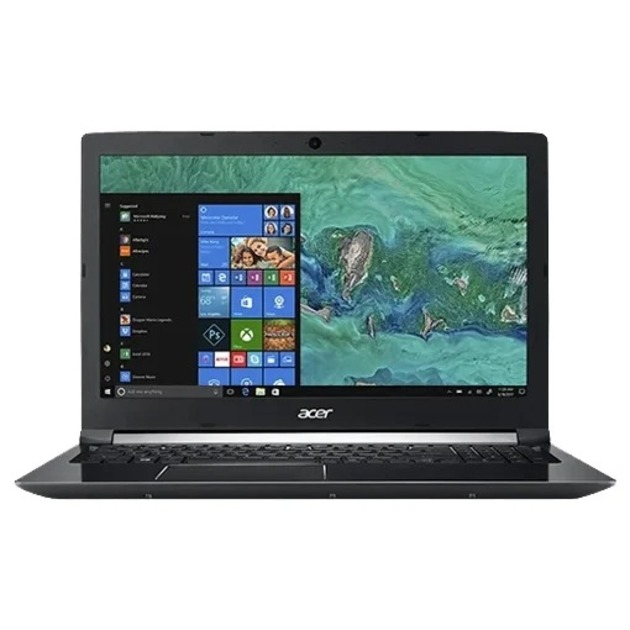 Ноутбук Acer Aspire 7 A715-75G-56ZT Core i5 9300H/8Gb/SSD256Gb/nVidia GeForce GTX 1650 Ti 4Gb/15.6/IPS/FHD (1920x1080)/Linux/black/WiFi/BT/Cam
