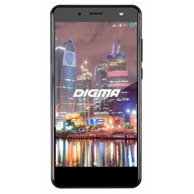 Смартфон Digma VOX Flash 4G 8Gb (Цвет: Black)