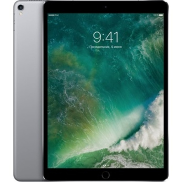 Планшет Apple iPad Pro 10.5 256Gb Wi-Fi + Cellular (Цвет: Space Gray)