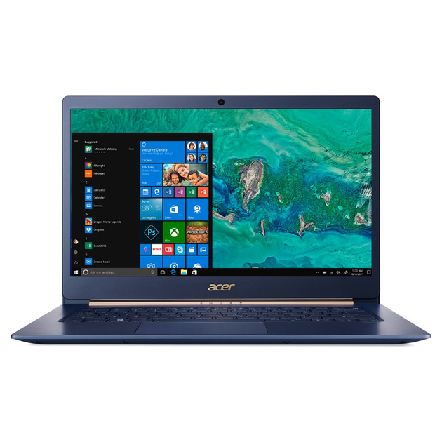 Ультрабук Acer Swift 5 SF514-53T-5105 Core i5 8265U/8Gb/SSD256Gb/Intel UHD Graphics 620/14/IPS/Touch/FHD (1920x1080)/Windows 10/blue/WiFi/BT/Cam