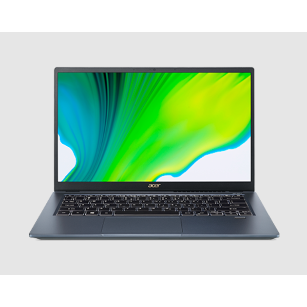 Ультрабук Acer Swift 3 SF314-510G-782K Core i7 1165G7/16Gb/SSD512Gb/Intel Iris graphics DG1 4Gb/14/IPS/FHD (1920x1080)/Windows 10/blue/WiFi/BT/Cam