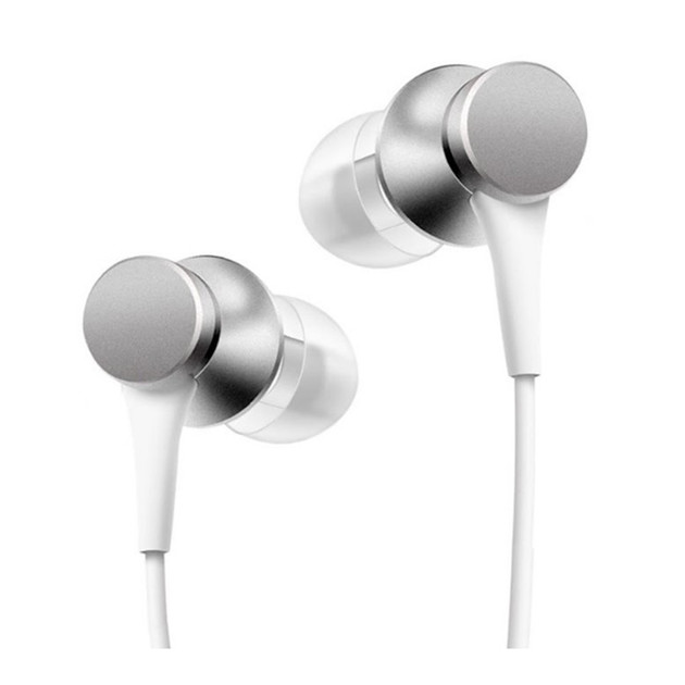 Наушники Xiaomi Mi Piston Headphones Basic (Цвет: Matte Silver)