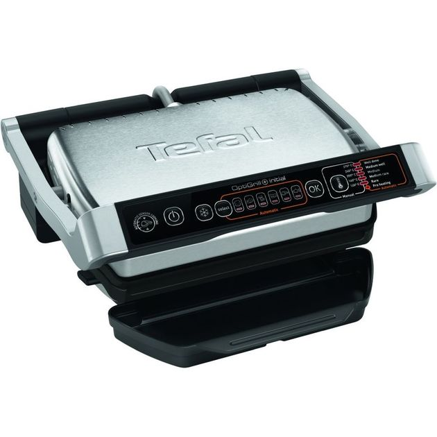 Гриль Tefal Optigrill GC706D34 (Цвет: Black/Silver)