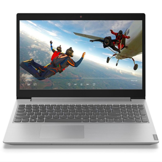 Ноутбук Lenovo IdeaPad L340-15IWL Core i3 8145U/4Gb/SSD128Gb/Intel UHD Graphics 620/15.6/TN/FHD (1920x1080)/noOS/grey/WiFi/BT/Cam