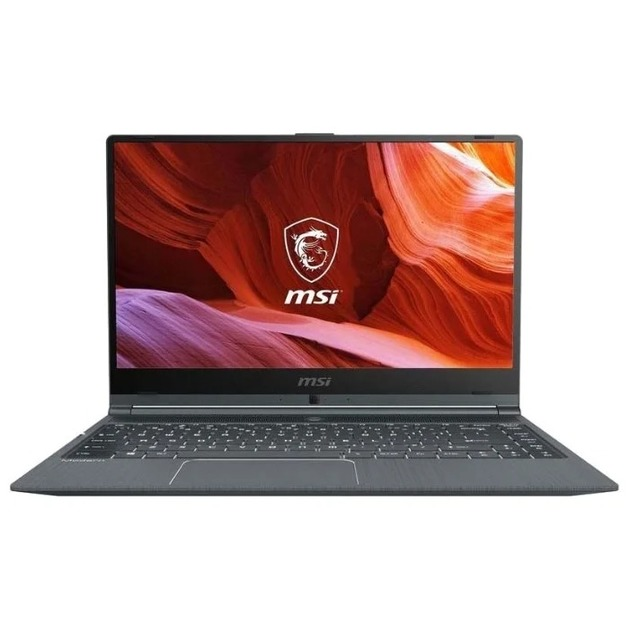 Ноутбук MSI Modern 14 B10MW-023XRU Core i5 10210U/8Gb/SSD512Gb/Intel UHD Graphics/14/IPS/FHD (1920x1080)/Free DOS/black/WiFi/BT/Cam