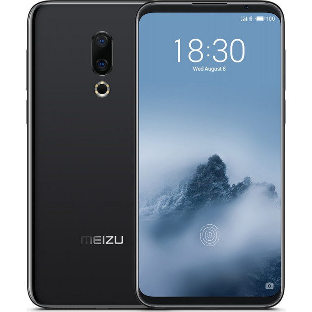Смартфон Meizu 16th 8/128Gb (Цвет: Midnight Black)