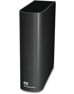 Жесткий диск WD Original USB 3.0 6Tb WDBWLG0060HBK-EESN Elements Desktop 2.5 (Цвет: Black)