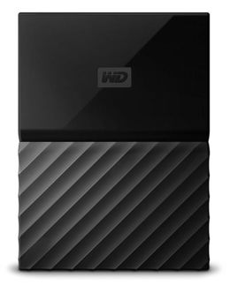 Жесткий диск WD Original USB 3.0 4Tb WDBZGE0040BBK-WESN My Passport (5400rpm) 2.5 (Цвет: Black)