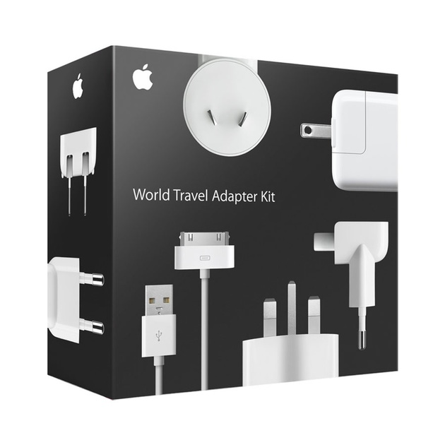 Набор СЗУ Apple World Travel Adapter (Цвет: White)