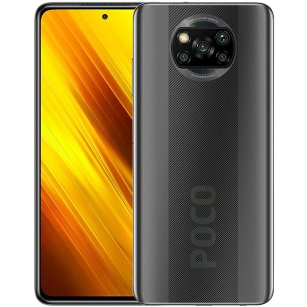 Смартфон Poco X3 6/128Gb RU (Цвет: Shadow Gray)