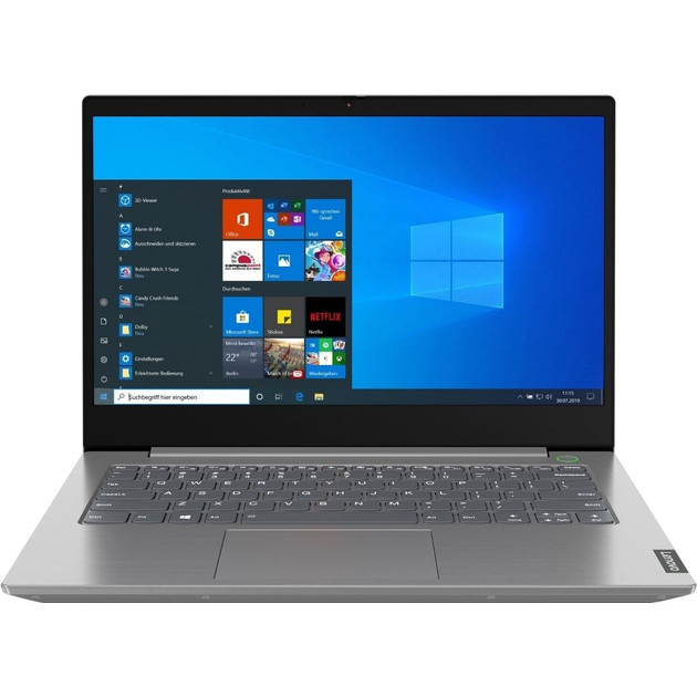 Ноутбук Lenovo IdeaPad IP5 15ARE05 Ryzen 3 4300U/8Gb/SSD256Gb/UMA/15.6/IPS/FHD (1920x1080)/Windows 10/grey/WiFi/BT/Cam