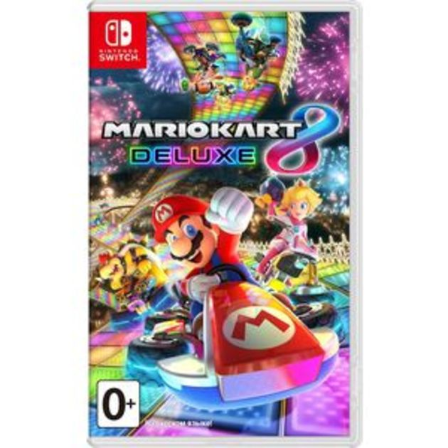 Игра Nintendo Switch на картридже Mario Kart 8 Deluxe / HAC MARIO KART8 DELUXE RUS