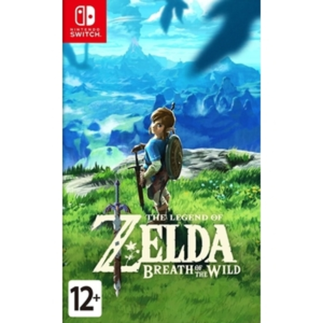 Игра Nintendo Switch на картридже The Legend of Zelda: Breath of the Wild / ZELDA BREATH WILD RUS