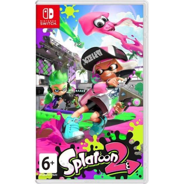 Игра Splatoon 2 для Nintendo Switch на картридже