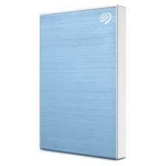 Жесткий диск Seagate Original USB 3.0 5Tb STHP5000402 Backup Plus 2.5 (Цвет: Light Blue)