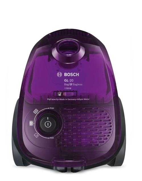 Пылесос Bosch BGN21700 (Цвет: Deep Purple Translucent)