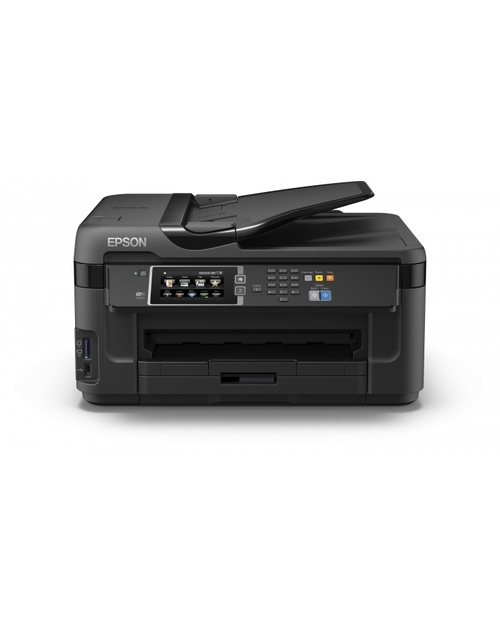 МФУ струйный Epson WorkForce WF-7610DWF (C11CC98302) A3+ Duplex WiFi USB RJ-45 черный