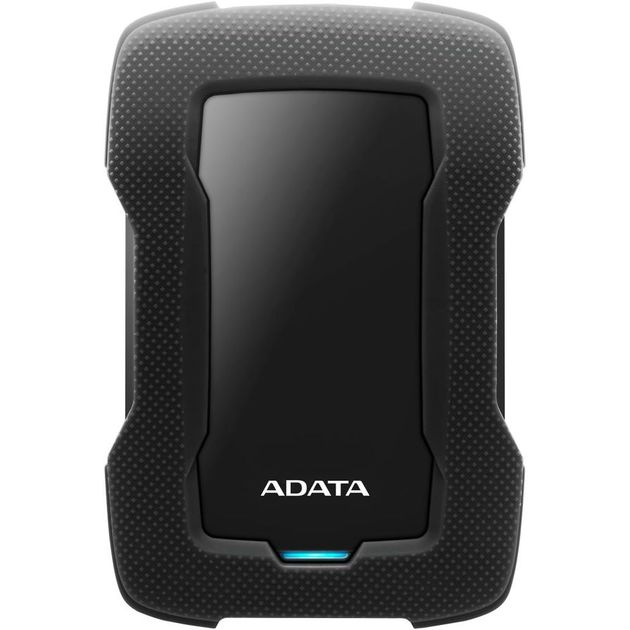 Жесткий диск A-Data USB 3.0 1Tb AHD330-1TU31-CBK HD330 DashDrive Durable 2.5 (Цвет: Black)