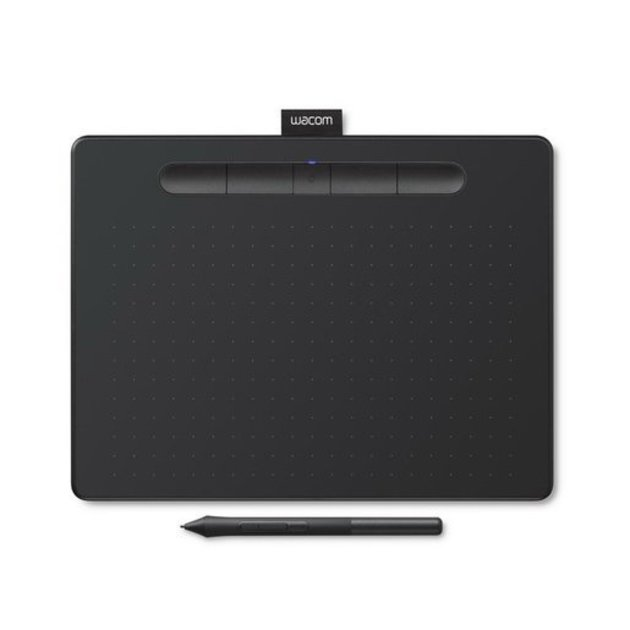 Графический планшет Wacom Intuos M Bluetooth Black цвет черный
