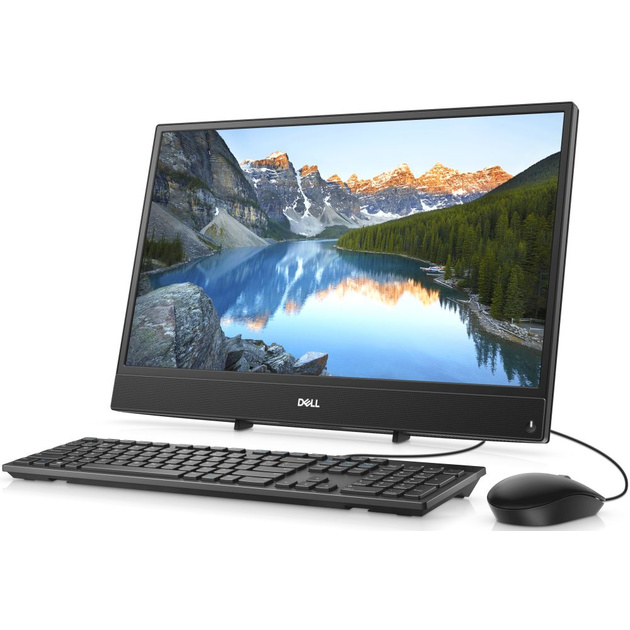 Моноблок Dell Inspiron 3277 21.5 Full HD P 4415U (2.3)/4Gb/1Tb 5.4k/HDG610 2Gb/Linux/GbitEth/WiFi/BT/65W/клавиатура/мышь/Cam/черный 1920x1080