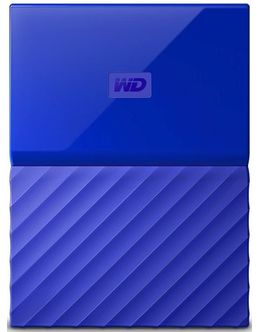 Жесткий диск WD Original USB 3.0 2Tb WDBLHR0020BBL-EEUE My Passport 2.5 (Цвет: Blue)
