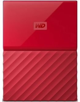 Жесткий диск WD Original USB 3.0 2Tb WDBLHR0020BRD-EEUE My Passport 2.5 (Цвет: Red)