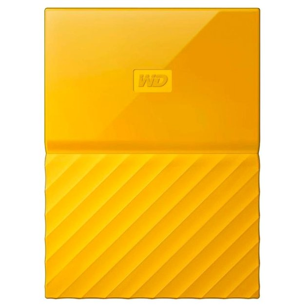 Жесткий диск WD Original USB 3.0 2Tb WDBLHR0020BYL-EEUE My Passport 2.5 (Цвет: Yellow)