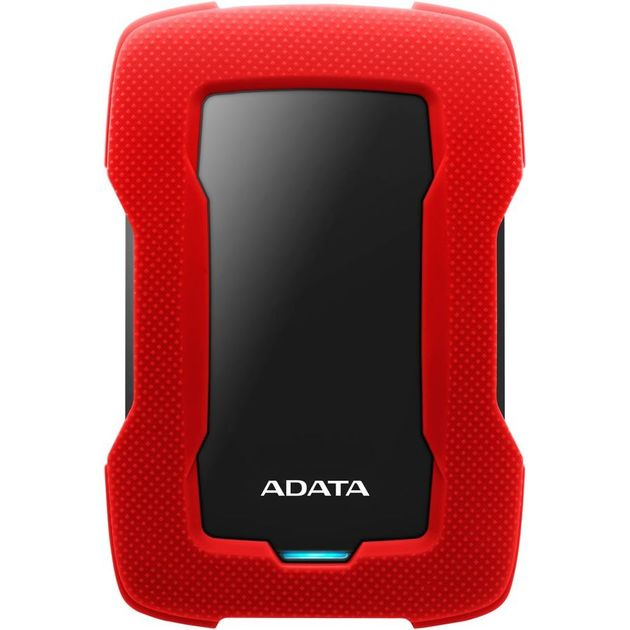 Жесткий диск A-Data USB 3.0 1Tb AHD330-1TU31-CRD HD330 DashDrive Durable 2.5 (Цвет: Red)