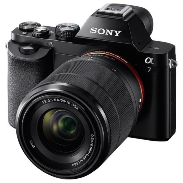 PhotoCamera Sony Alpha ILCE-7K KIT black 24.3Mpix FE 28-70/3.5-5.6 OSS 3