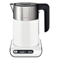 Чайник электрический Bosch TWK8611P 1.5л. 2400Вт белый/серебристый (корпус: нержавеющая сталь)