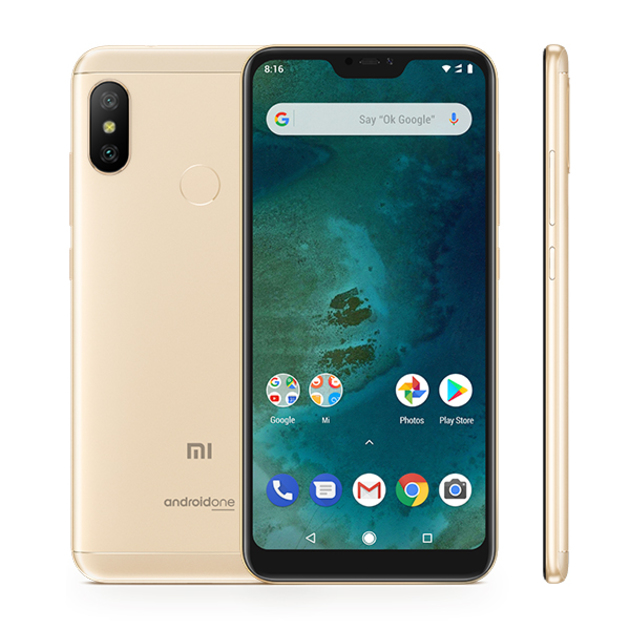 Смартфон Xiaomi Mi A2 Lite 4/32Gb Global (Цвет: Gold)