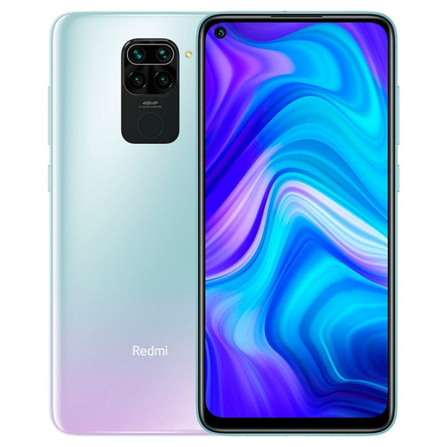 Смартфон Xiaomi Redmi Note 9 3/64Gb RU (Цвет: Polar White)