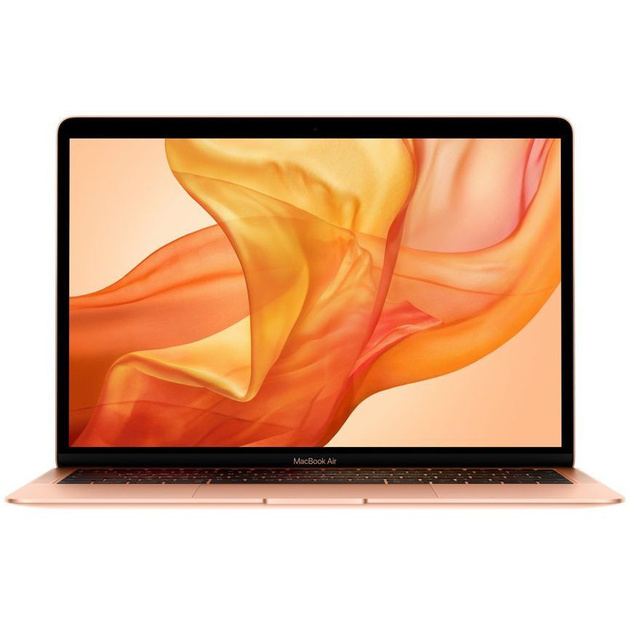 Ноутбук 13-inch MacBook Air: 1.6GHz dual-core 8th-generation Intel Core i5 (TB up to 3.6GHz)/8GB/128GB SSD/Intel UHD Graphics 617 - Gold