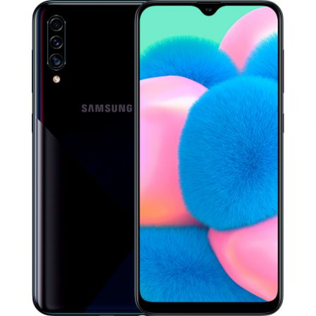 Смартфон Samsung Galaxy A30s SM-A307FN/DS 64Gb (Цвет: Prism Crush Black)