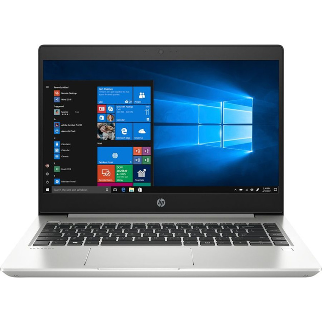 Ноутбук HP ProBook 440 G6 Core i5 8265U/8Gb/SSD256Gb/Intel UHD Graphics 620/14/FHD (1920x1080)/Windows 10 Professional 64/silver/WiFi/BT/Cam