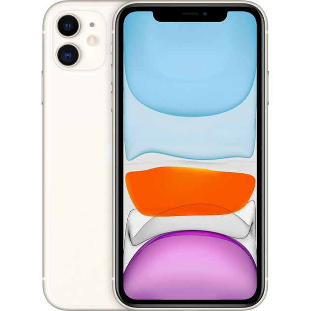 Смартфон Apple iPhone 11 64Gb MWLU2RU/A (Цвет: White)