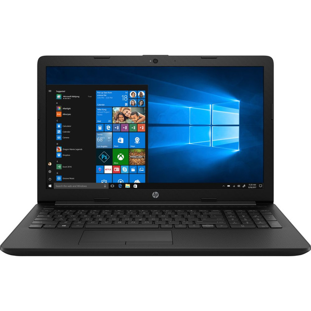 Ноутбук HP 15-db0406ur A9 9425/4Gb/SSD256Gb/AMD Radeon R5/15.6/FHD (1920x1080)/Windows 10/black/WiFi/BT/Cam