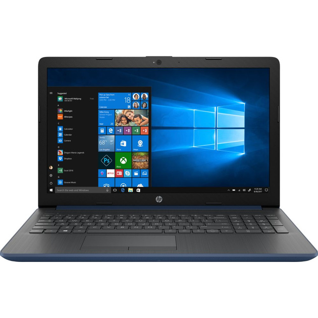 Ноутбук HP 15-db0409ur A9 9425/4Gb/500Gb/AMD Radeon R5/15.6/FHD (1920x1080)/Windows 10/blue/WiFi/BT/Cam