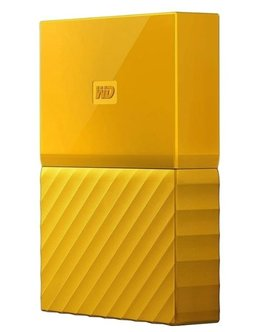 Жесткий диск WD Original USB 3.0 1Tb WDBBEX0010BYL-EEUE My Passport 2.5 (Цвет: Yellow)