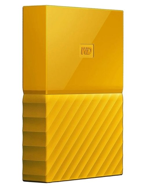 Жесткий диск WD Original USB 3.0 4Tb WDBUAX0040BYL-EEUE My Passport 2.5 (Цвет: Yellow)