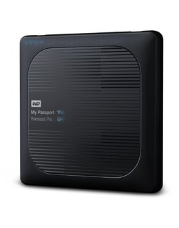 Жесткий диск WD Original USB 3.0 2Tb WDBP2P0020BBK-RESN My Passport Wireless Wi-Fi 802.11 a/c 2.5 (Цвет: Black)