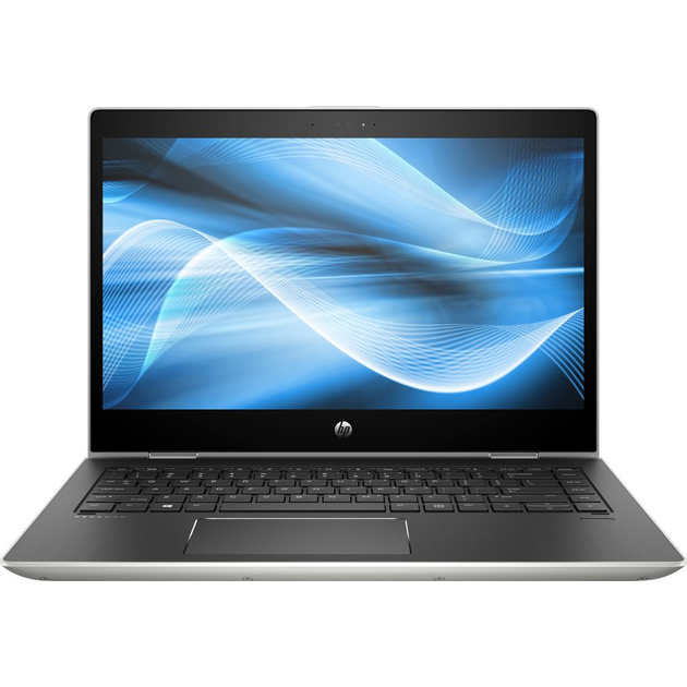 Ноутбук HP ProBook x360 440 G1 Core i5 8250U/8Gb/SSD256Gb/Intel UHD Graphics/14/UWVA/Touch/FHD (1920x1080)/Windows 10 Professional 64/silver/WiFi/BT/Cam