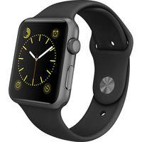 Умные часы Apple Watch Series 3 42mm Aluminum Case with Sport Band (Цвет: Space Gray/Black)