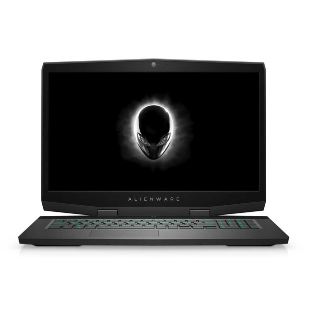 Ноутбук Alienware m17 Core i7 8750H/16Gb/1Tb/SSD256Gb/SSD8Gb/nVidia GeForce RTX 2060 6Gb/17.3/IPS/FHD (1920x1080)/Windows 10/silver/WiFi/BT/Cam
