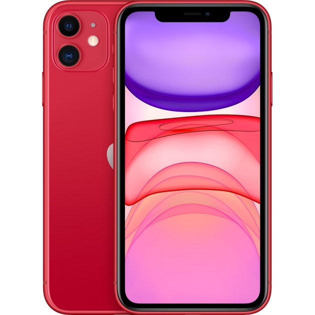 Смартфон Apple iPhone 11 64Gb MWLV2RU/A (Цвет: Red)
