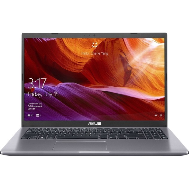 Ноутбук Asus VivoBook X509JA-EJ028T Core i5 1035G1/8Gb/SSD256Gb/Intel UHD Graphics/15.6/FHD (1920x1080)/Windows 10/grey/WiFi/BT/Cam