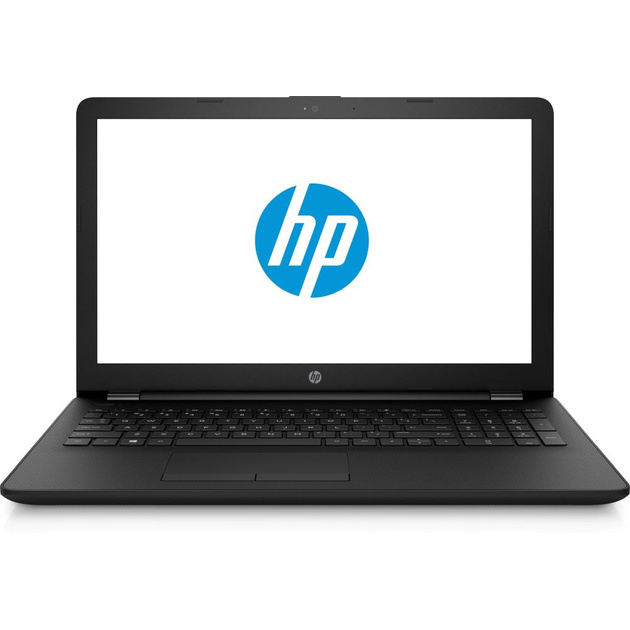 Ноутбук HP 15-bs186ur Pentium 4417U/4Gb/SSD128Gb/Intel HD Graphics 610/15.6/HD (1366x768)/Free DOS/black/WiFi/BT/Cam